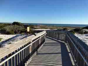 Henderson Beach State Park boardwalk
