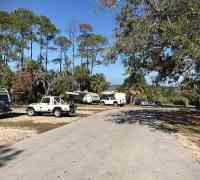 Shell Mound Campground at Cedar Key