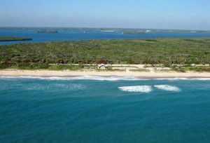 Avalon Beach State Park aerial