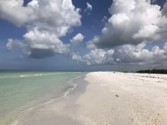 Tigertail Beach on Marco Island. (Photo Bonnie Gross)