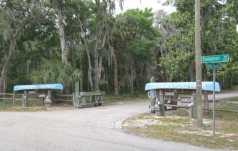 Entrance to Alderman's Ford Park.