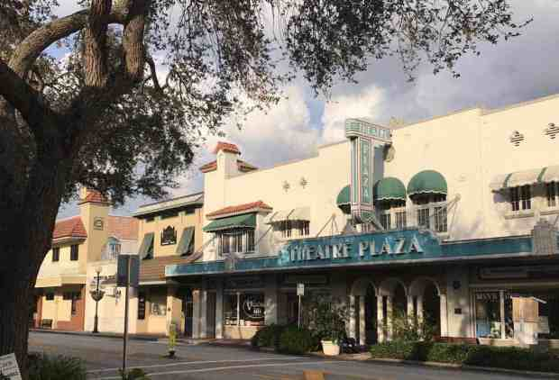 Historic buildings along Main Street in Vero Beach. (Photo: Bonnie Gross)