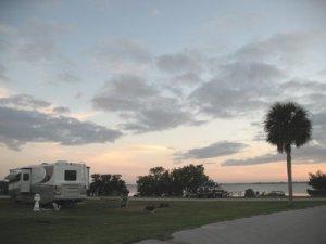 Long Point Park campsite