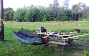 Colt Creek State Park campsite