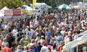 Crowds at the 2013 Cortez Commercial Fishing Festival