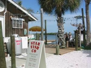 Starfish Restaurant in Cortez, FL