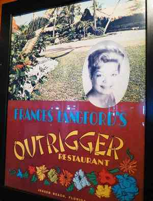Frances Lanford, a 1940s movie star, founded the resort.