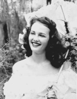 Azalea queen in 1949