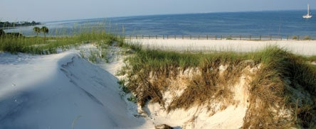 View from the dunes at St. Joseph Peninsula State Park