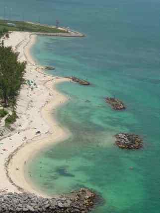 Zachary Taylor Beach aerial