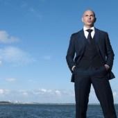 Pitbull at sea