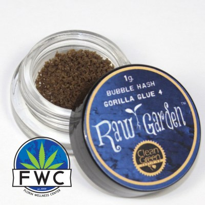 Raw Garden Gorilla Glue Bubble Hash