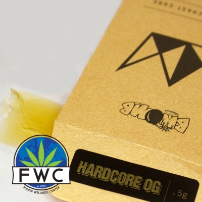West Coast Cure Hardcore OG Shatter