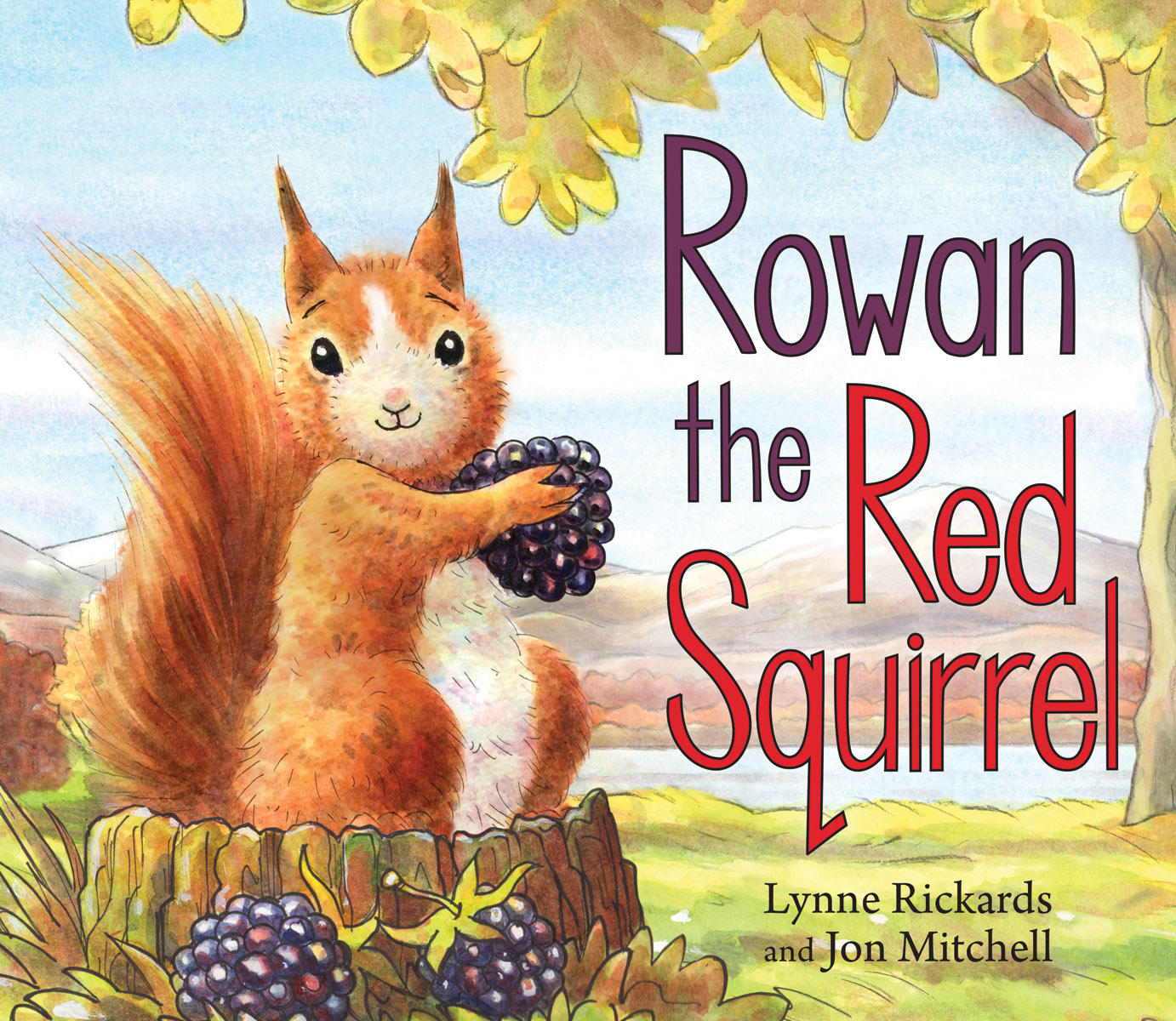 Image result for rowan the red squirrel