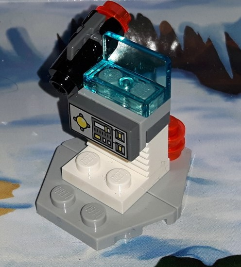 Something approaching an element of Echo Base on Hoth, I guess...