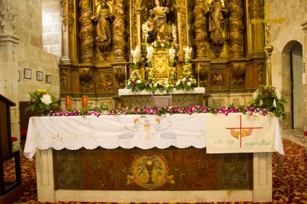 Decoración Floral para Bautizos, Floristería Maru Melide