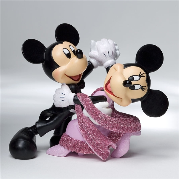 Disney Showcase Mickey And Minnie Waltz 4022354 Flossies Gifts Amp Collectibles