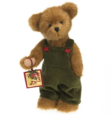Boyds 10 Inch Boy Christmas Bear 4028353 Available From