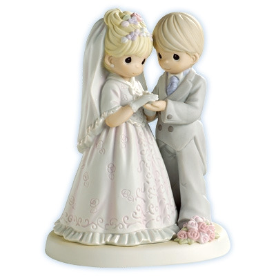 Wedding Couple Precious Moments Figurine 550027
