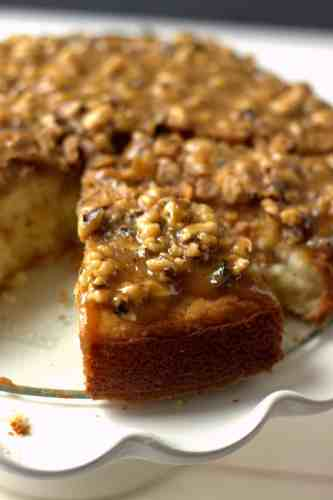 Cake with Praline Topping
