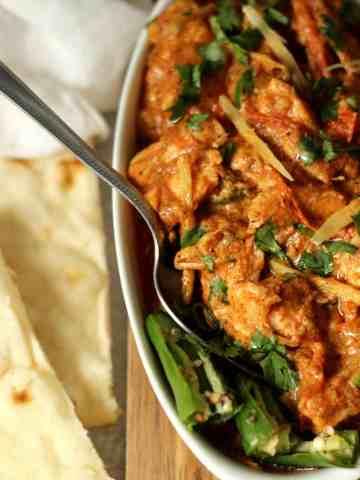 Pakistani Chicken Ginger