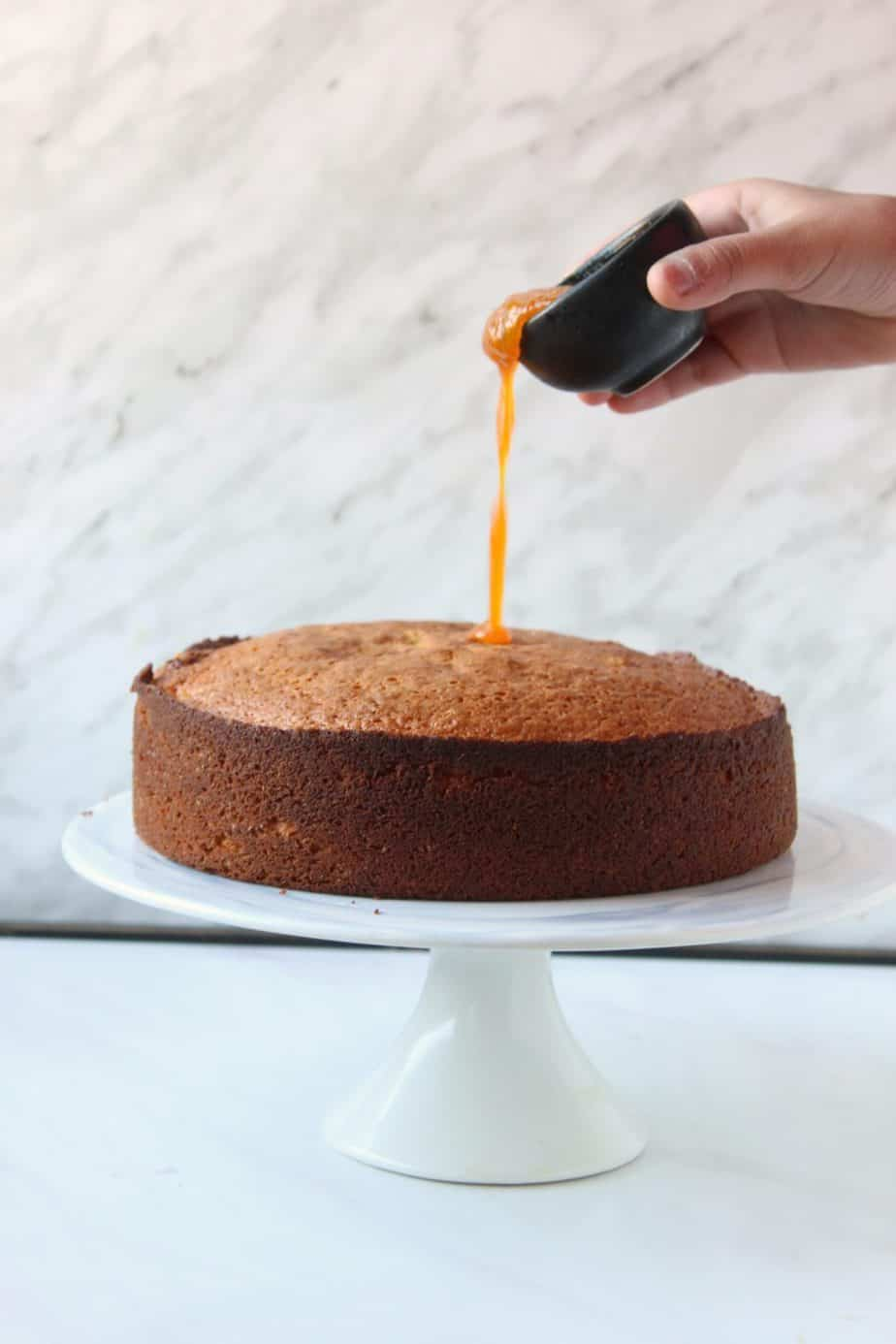 Orange Cake with Oil