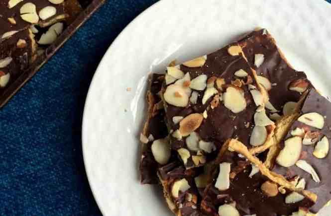 Chocolate Caramel Crack(ers) or Chocolate Toffee Bark