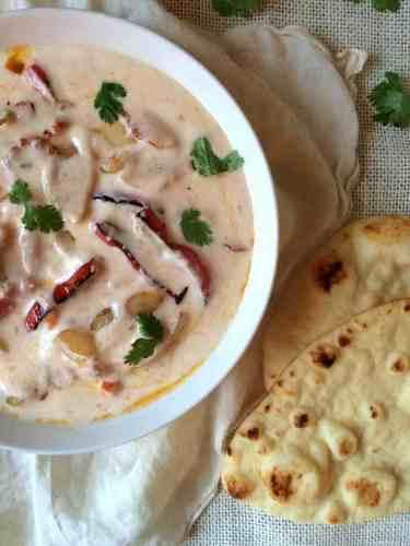 Sabzi Raita - Yogurt w Stir fried Veggies