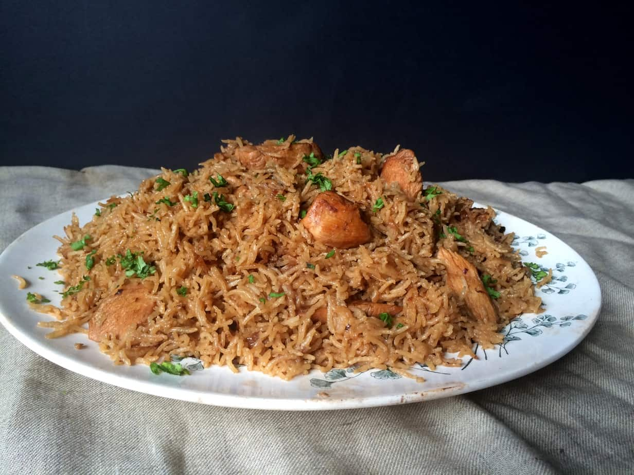 How to Make Pakistani Pulao (Chicken and Rice Dish) advise