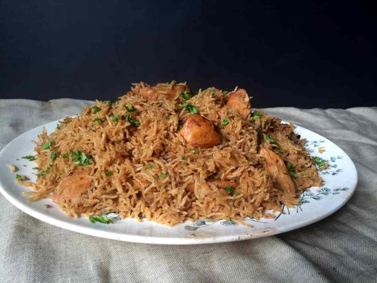 A Kid Friendly Chicken Pulao