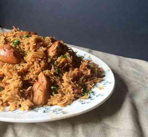 Chicken Pulao - Chicken Pilaf