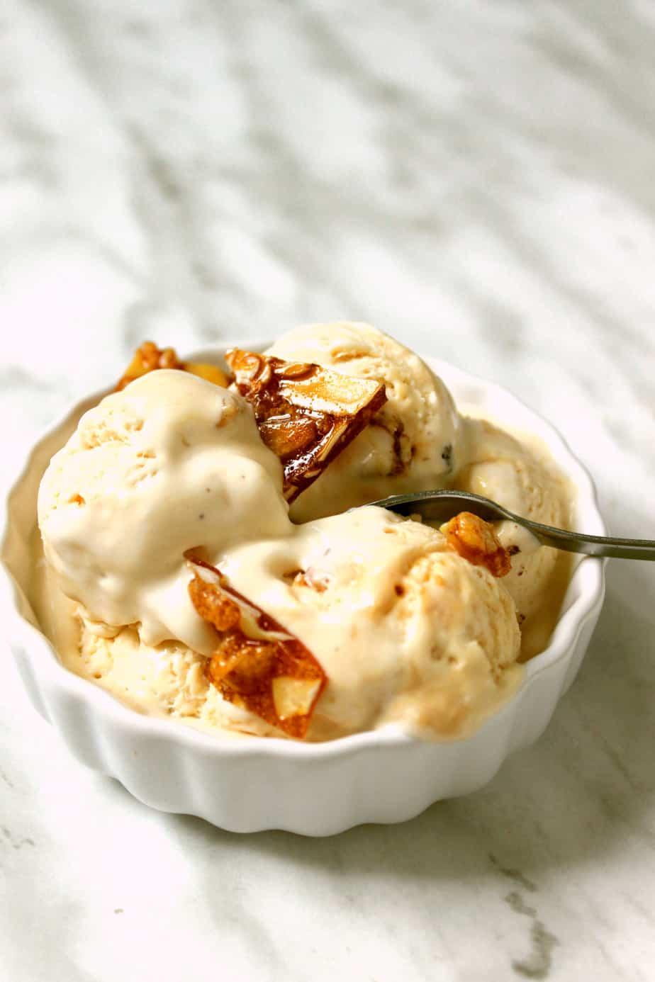 Caramel Crunch Ice Cream