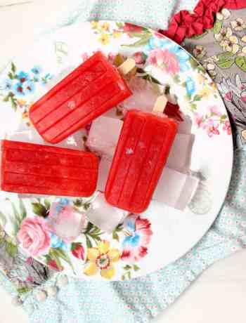 watermelon rooh afza popsicle