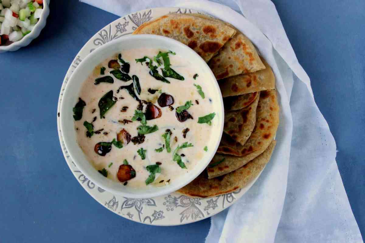 Baingan ka Raita - Sliced Eggplant in Yogurt