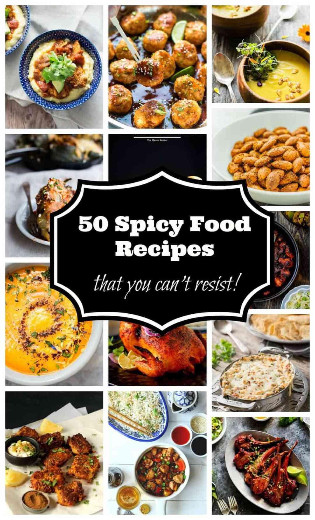 50 Spicy Food Recipes