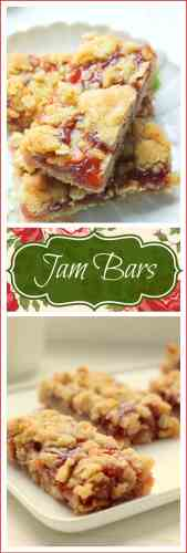 Strawberry Jam Bars