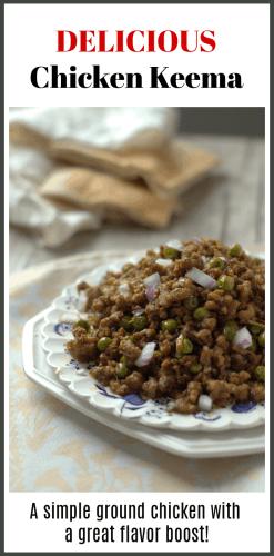Pakistani Chicken Keema