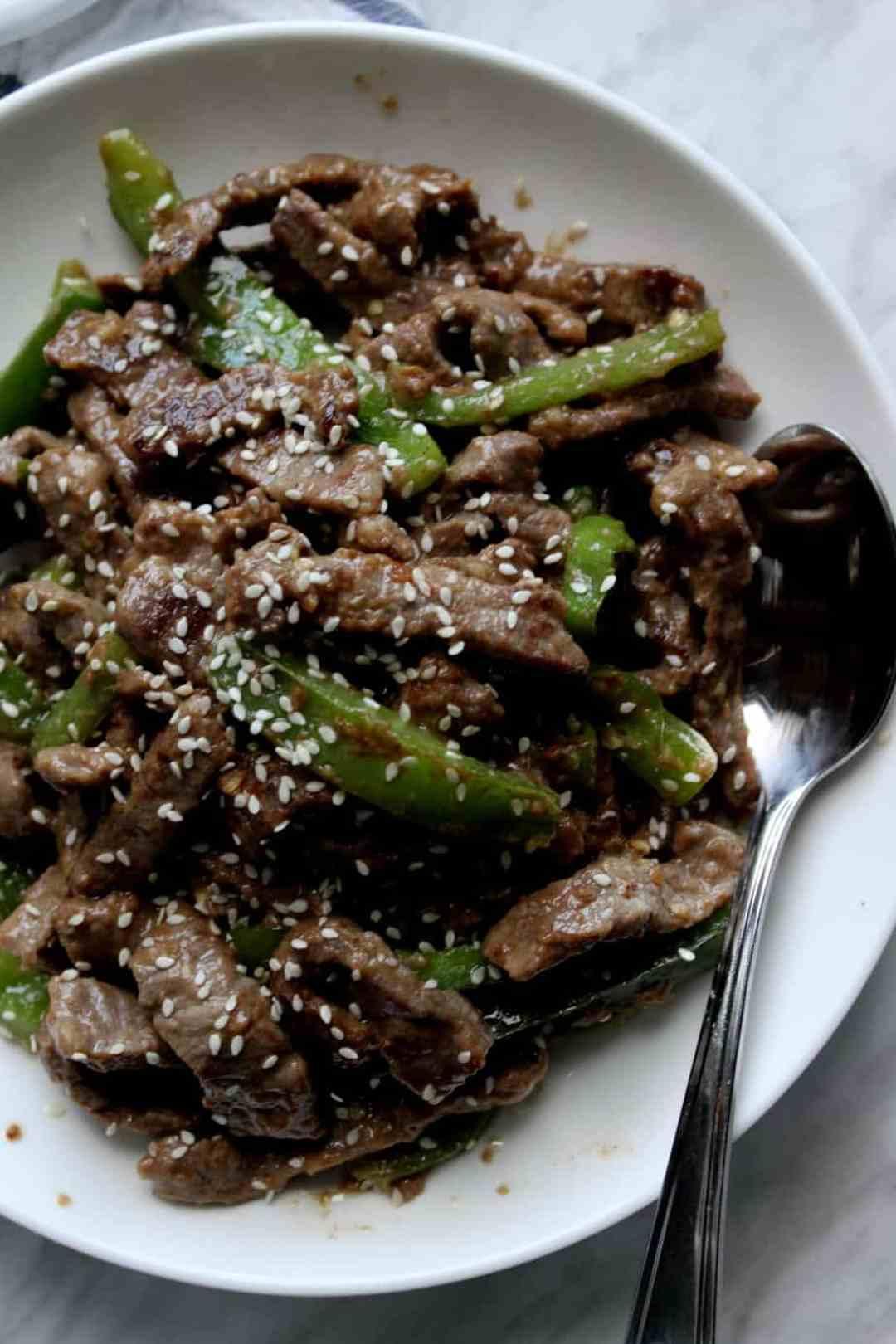 Beef Chilli Dry