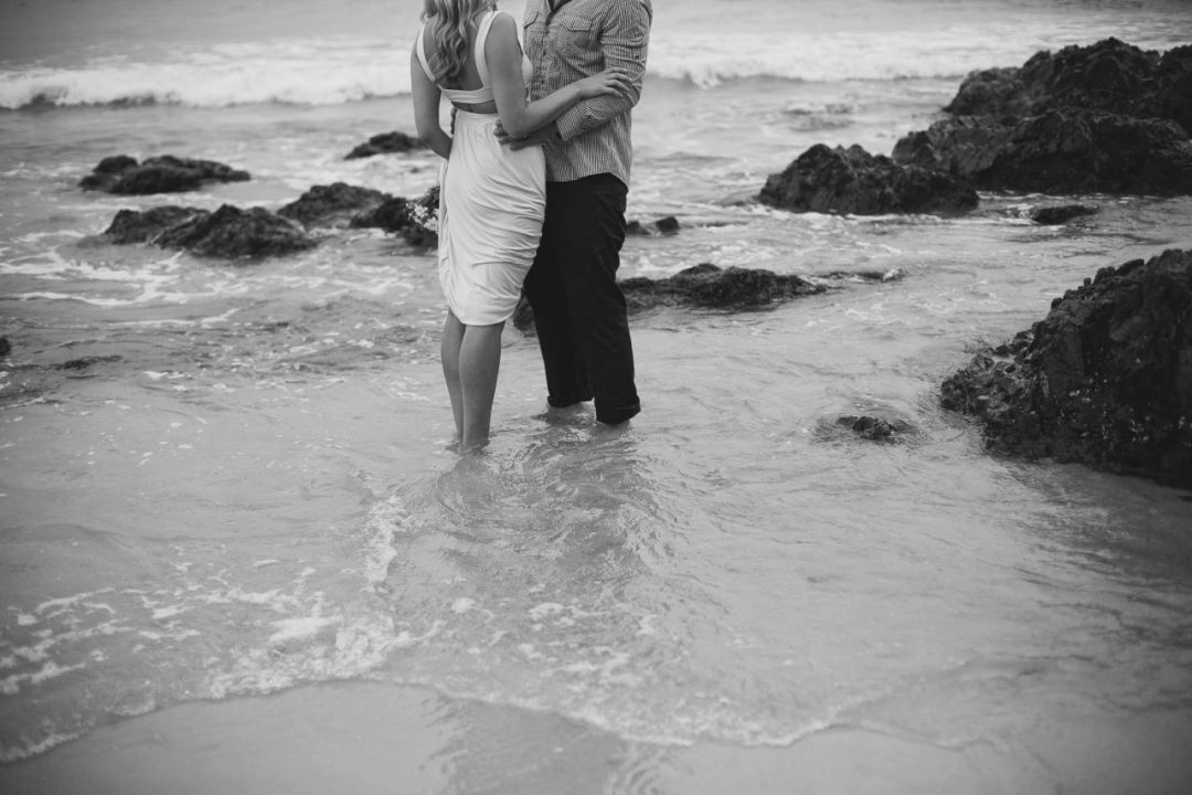 My love & I. Married at Watego's, Byron Bay