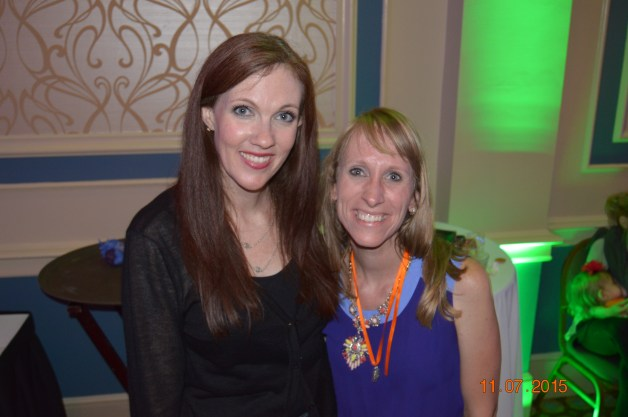 Yours Truly with Jen Fulwiler, co-founder of the Edel Gathering.