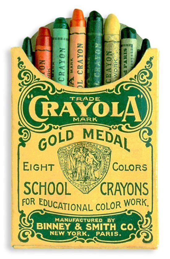 Eight Colors Crayon Original Crayola