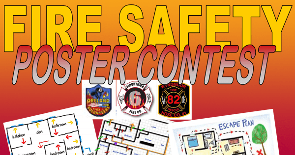 Fire Safety Poster Contest For Local School Children