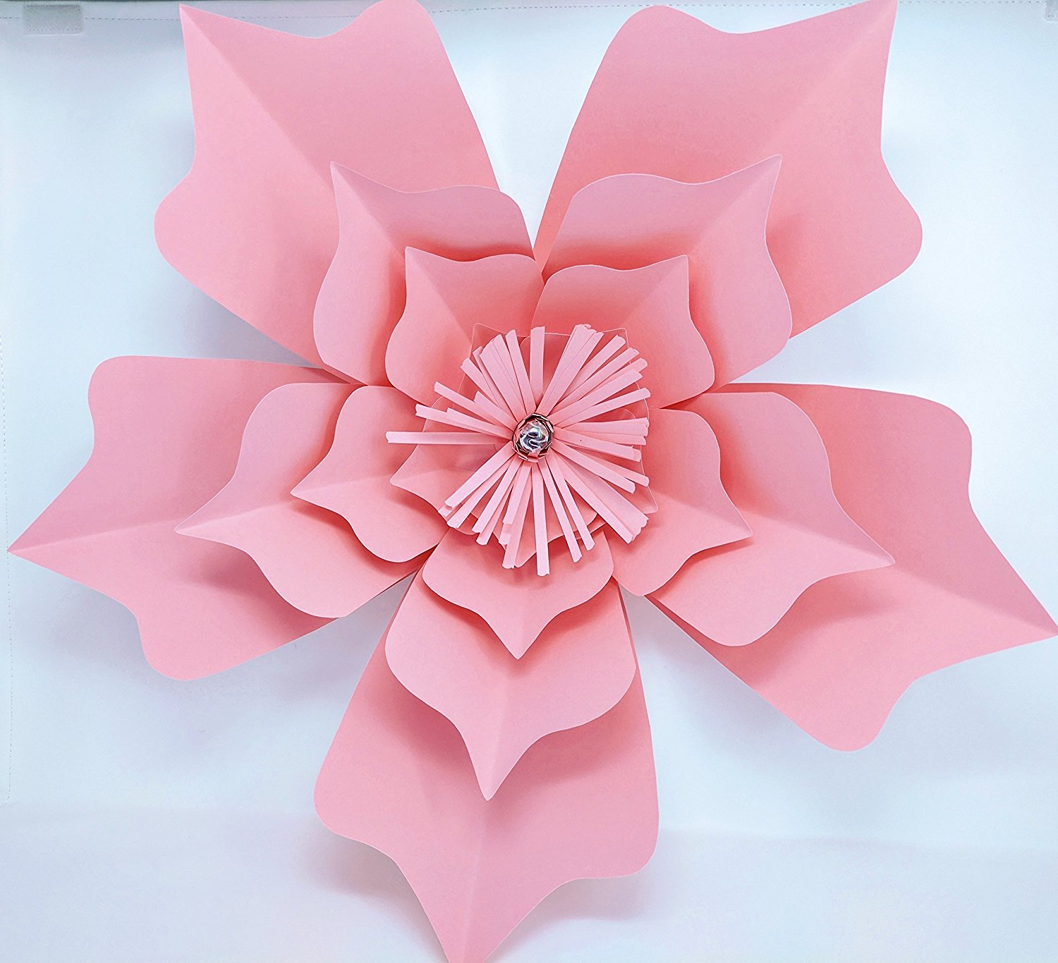 Paper Flower Model Lotus 18 Diameter Multiple Colors Pre