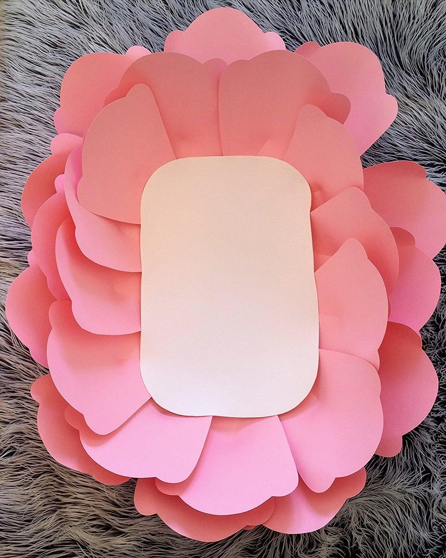 "32 Flower Toe Nail Designs: Super Jumbo Paper Flower, 32"" Diameter, Great For Newborn"