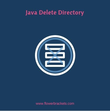 how to delete a folder/directory in java