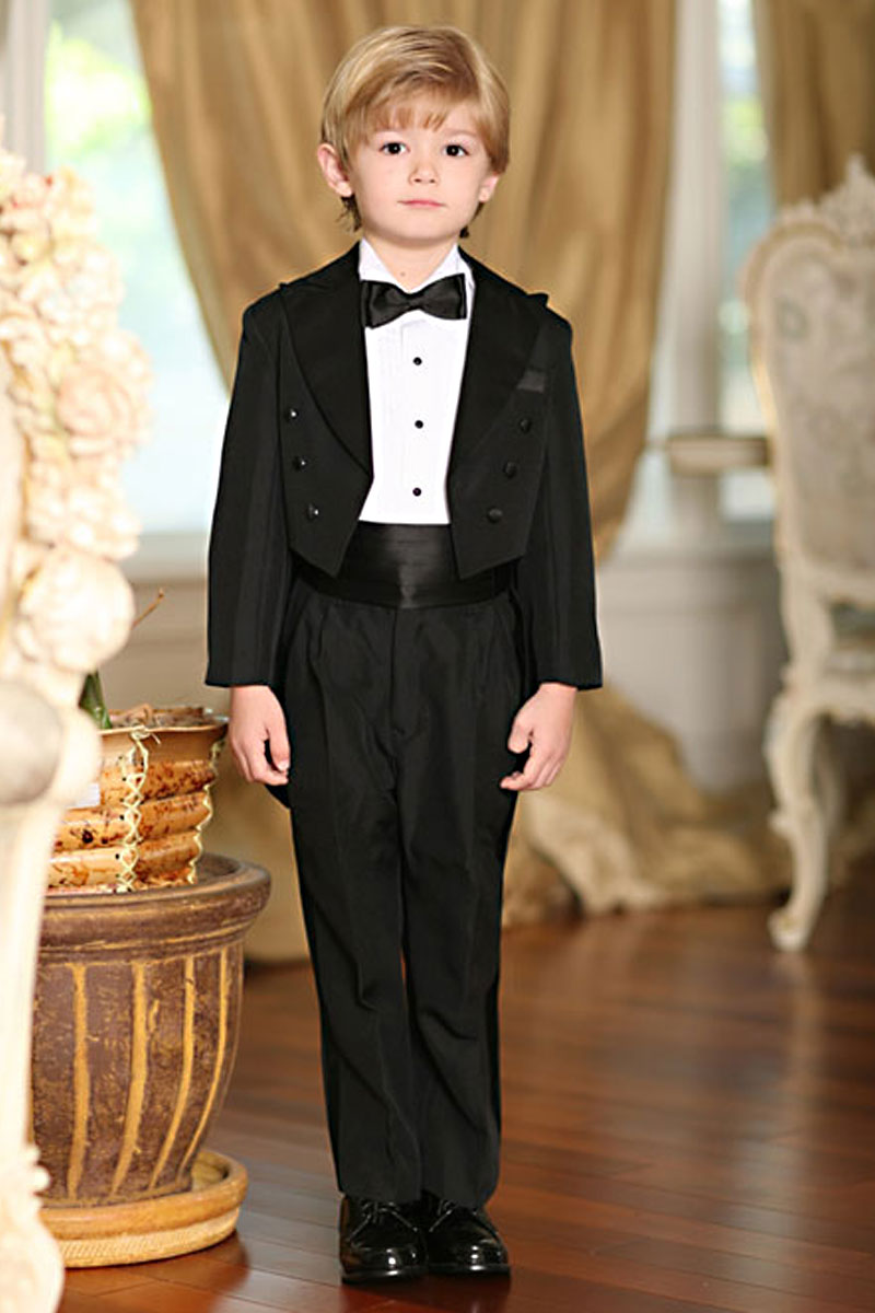 TT4001 Boys Suit Tails Tuxedo Style 4001 In Choice Of