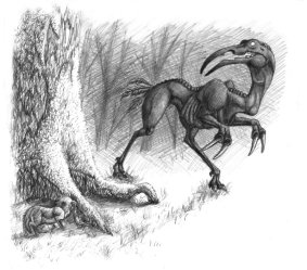 Pencil sketch of an ombra.