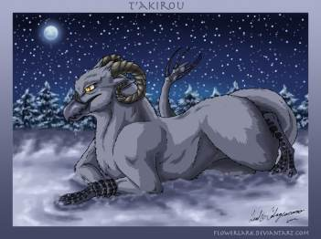 Early concept of t'akirou.