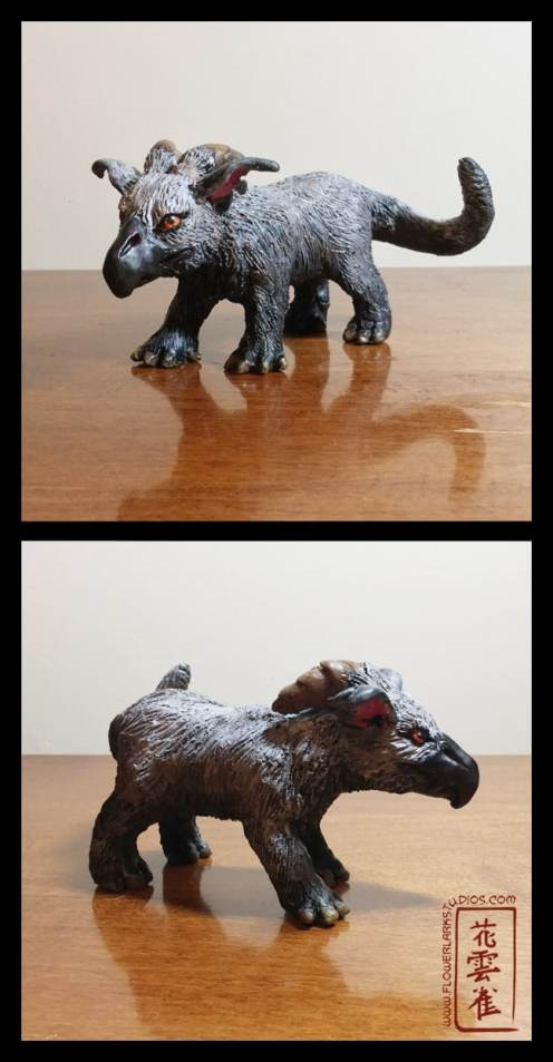 Polymer Clay Kazu Sculpture