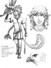 Fianue Concept Sketches